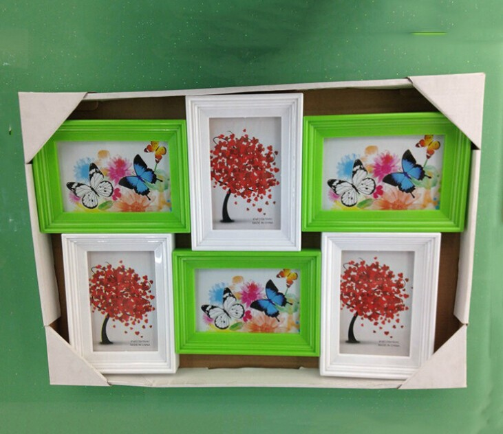 Wall Hanging Plastic Photo Frame
