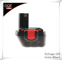 New 12V Ni-Cd 2000mAh Replacement Cordless Rechargeable Power Tool Battery Packs for Bosch BAT043 BAT045 BAT049