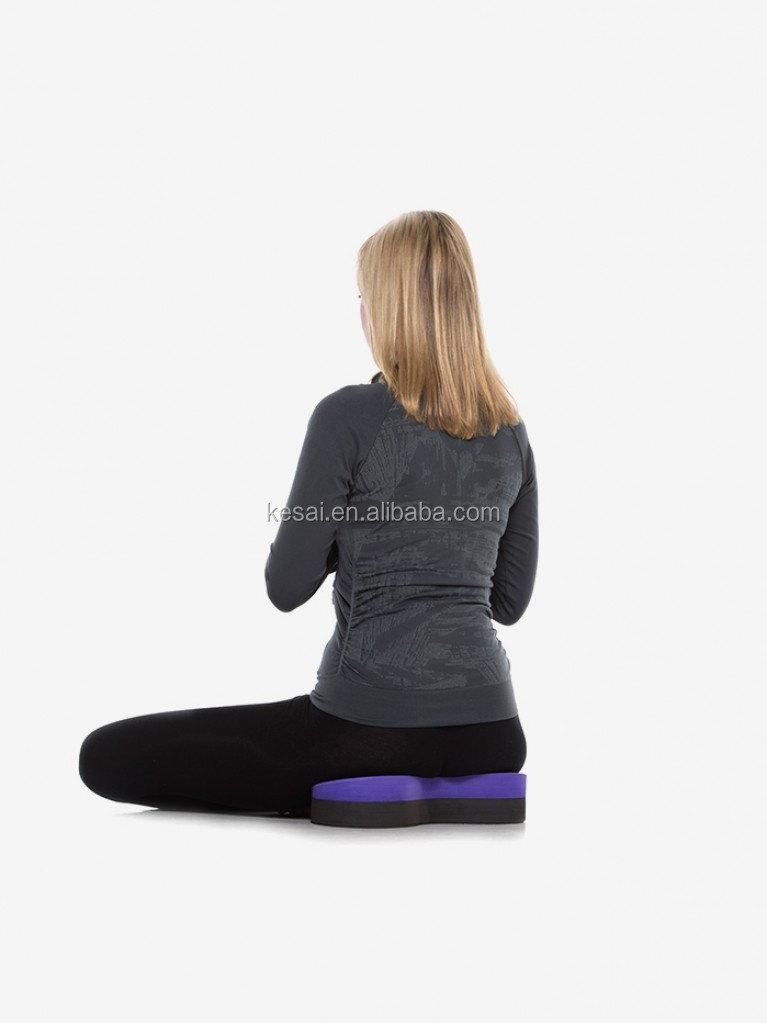 New model of yoga block buttafly seat and yoga accessory