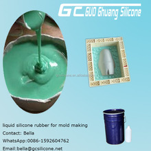 2 part condensation cure liquid silicone rubber mold making