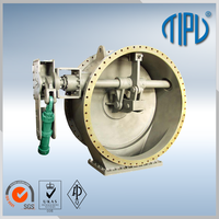 auto electric water control butterfly valve for oil