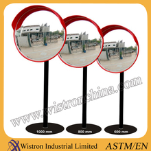 ABS Backboard Reflective PC Lens Convex Mirror