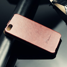 2014 hot selling flip leather case for iphone 5 5s cover, up down leather case, mobile phone case