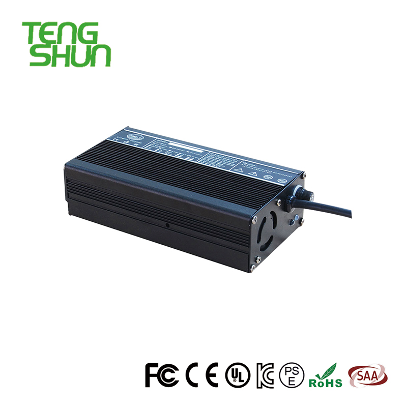 TengShun high power 48V 3A 4A electric scooter / electric bike charger for 20ah lead acid battery