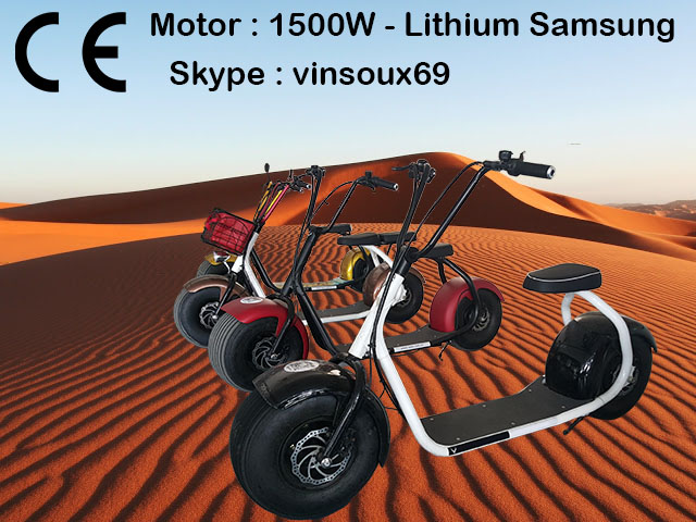 (Discount) 2016 hot sale Electric scooter motor 1500w 750usd free ship