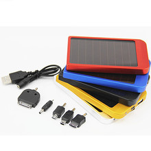 PowerGreen Solar Cell Phone Charger 2600mAh ROHS Power Bank Handy Charger for Phone