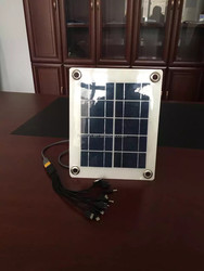 high efficincy 5W 5v semi flexible solar panel