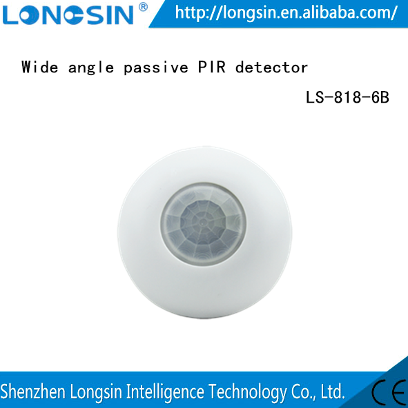 Home security systems for wide angle PIR detectors