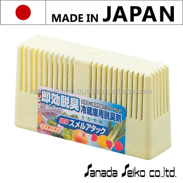 NEW SMELL ATTACK ( deodorant for refrigerator) | Sanada Seiko Chemicals High Quality made in japan | deodorant tubes wholesale