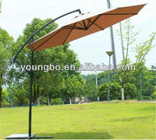 10ft garden banana umbrella-transparent umbrella