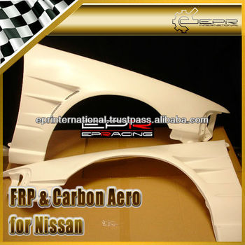 For Nissan A31 Cefiro BN Style Front Vented Fender + 25mm Body Kits