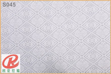 S045 chantilly polish african french lace fabric