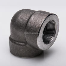 "1/2"" 3000# ASME B16.11 ASTM A105 Threaded Equal 90D ELBOW"