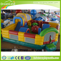Hot selling low price Giant inflatable outdoor kids fun city joyful tent inflatable