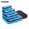 Wholesale Luggage Organizers With Shoe Bag 4 Piece Set Travel Packing Cubes