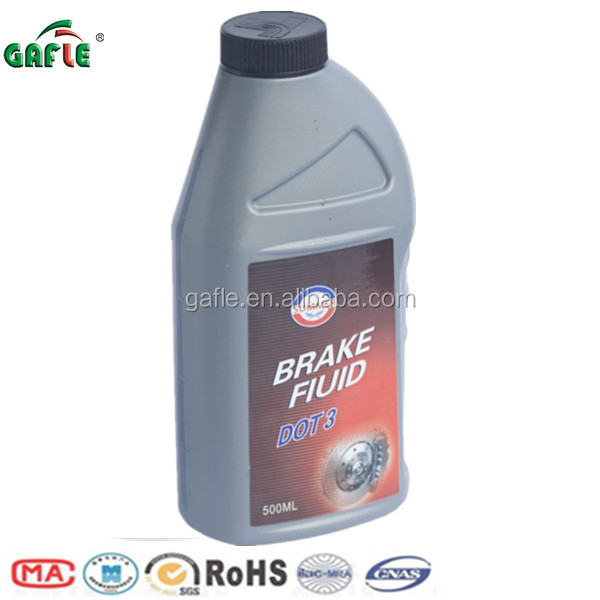 500ml high standard automotive dot3 brake fluid