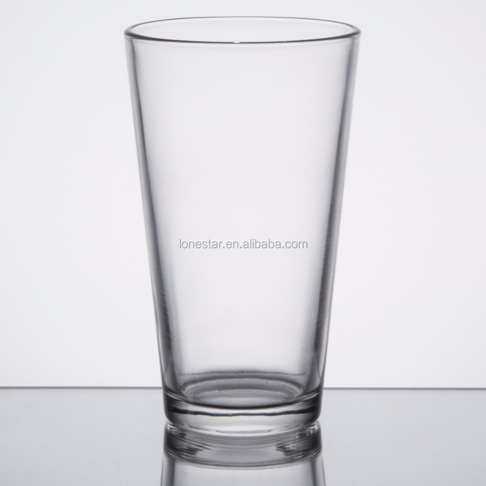 Classic American Style Core 16 oz. Pint Glass / Beer Glass