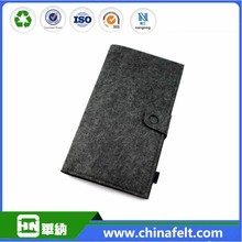 2017 Eco-friendly handmade felt business card bag are welcome