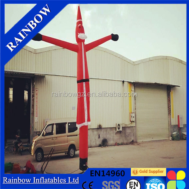 Outdoor Christmas Advertising Inflatable Sky Dancer Air Dancer