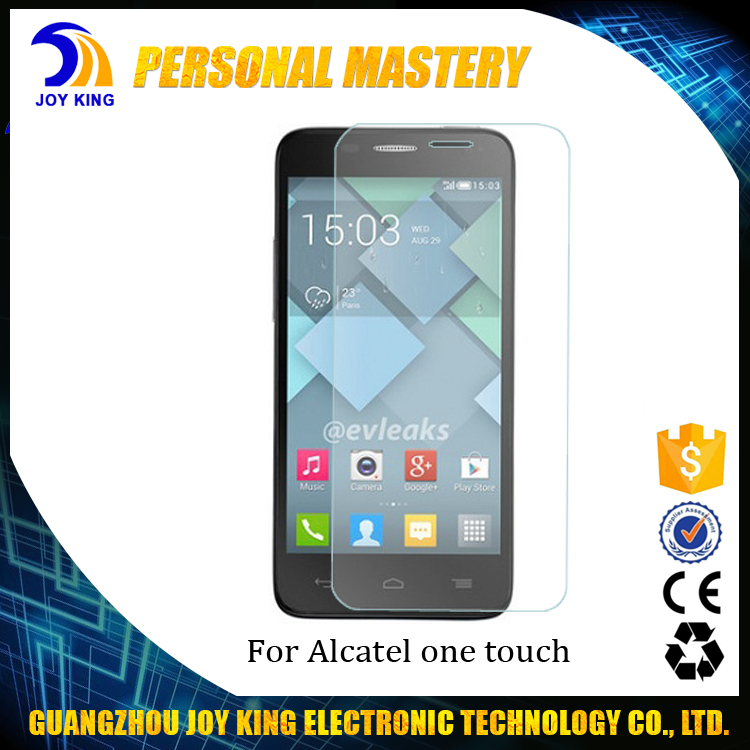 Wholesale 2.5D 0.3MM Mobile Phone Tempered Glass For Alcatel One Touch 4.0 Inch