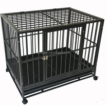 Large Metal Black Wire Pet Cage Iron Dog Cage