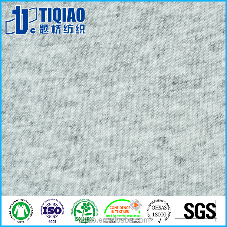 32S/1*2 Poly/Wool Jersey knitted fabric light weight soft touch fabric