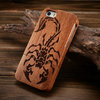 wood case for iphone 5s for custom iphone 5 case with customized made image MOQ 50pcs