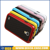 Soft TPU PC hybrid shockproof case for samsung galaxy s4 mini in stock supplier