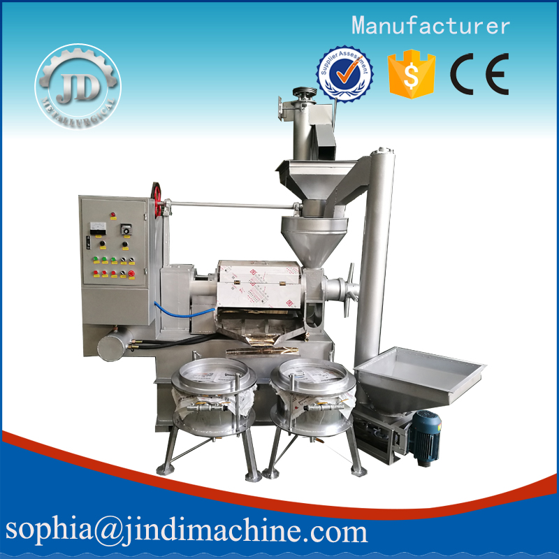 China Supplier Cold Press Oil Machine for Farm Use