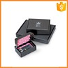 Custom fancy paper makeup gift boxes for Cosmetology brush packaging