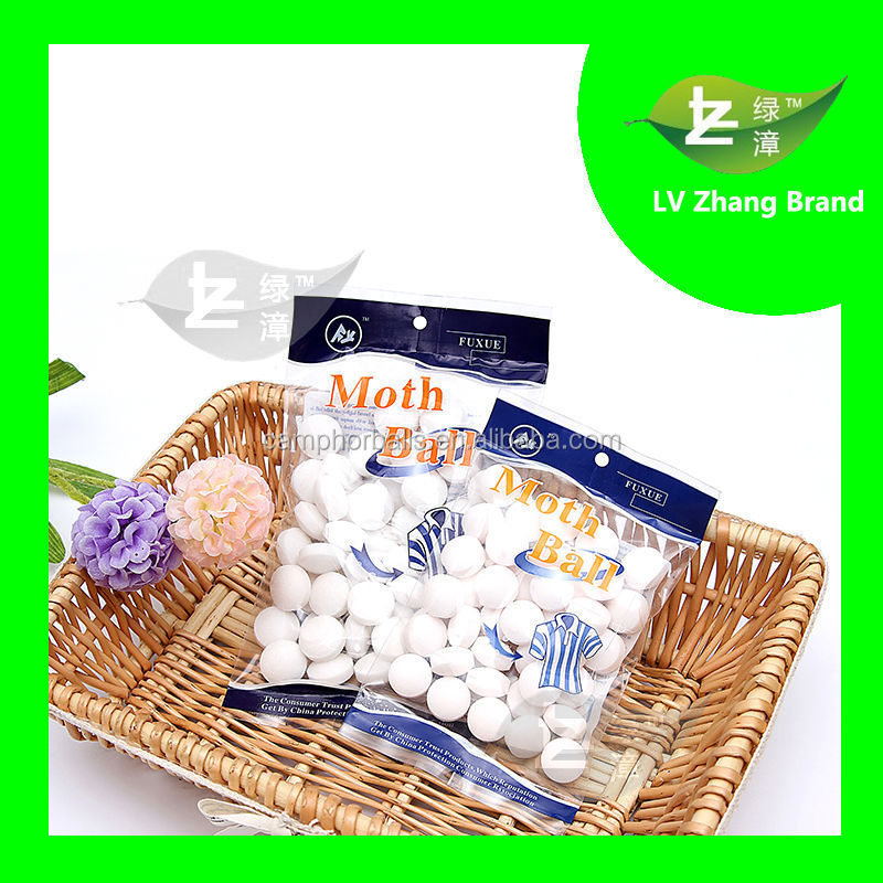 2017 Year New Design Effectively prevent zika virus Snow- White Naphthalene Moth ball