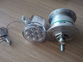 bicycle electric hub Generator light set