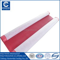 Cheap building materials 2.0mm PVC flat roofing sheets waterproofing membrane roofing roll
