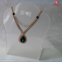 Factory acrylic necklace holder jewelry display stand & necklace holder