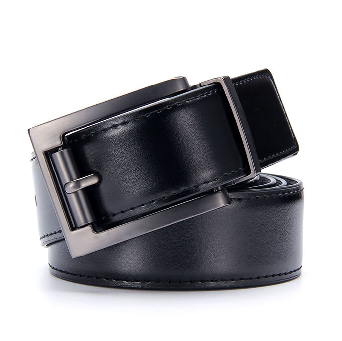 wholesale price classic men black <strong>belt</strong> with adjustable size
