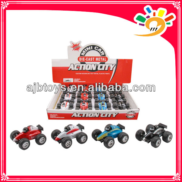 Funny Alloy Formula Car Pull Back Cars For Kids