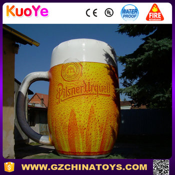 giant inflatable beer mug for sale