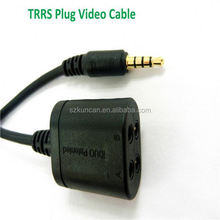 code 3 rj45 cable vga to rca component cable coaxial to rca cable