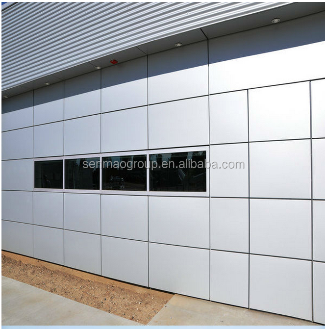 Linyi senmao low price 1250 mm width aluminum composite panel/acp with different sizes