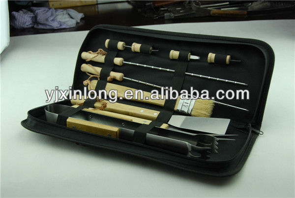 hot!bbq tool sets with nylon bag