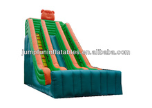 Adults inflatable high slide for commercial hire bounce house