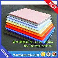 1mm 3mm 5mm to 12mm thick moldable ABS Plastic for vacuum forming