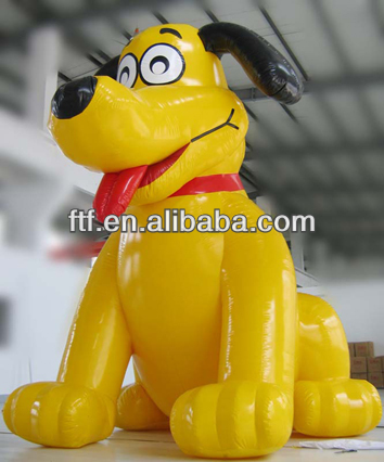 advertising inflatable dog/5m high giant advertising inflatable lovely dog for promotion