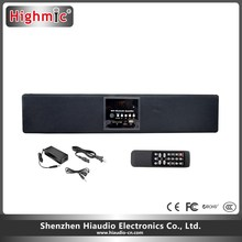 2.1 Channel Wired Home Theater Best Sound Bars with Subwoofer Bluetooth Speakers