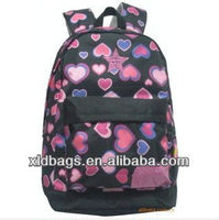 2013 Trendy colorful school bags for teenage girls in school bags with low price