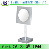 wall mounted magnifying lighted electric decorative mirror