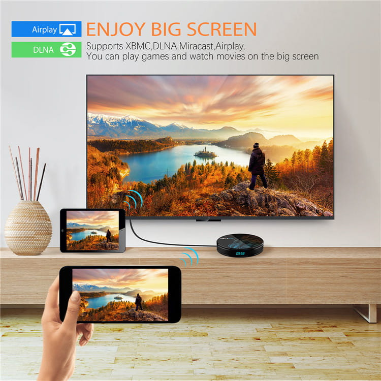 China Manufactory HK1 MAX RK3328 android set top box smartbox with best quality