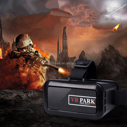 VR Park 3d glasses virtual reality for smart phone watch movies and games