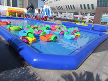 Best quality large inflatable swimming pool,kids inflatable play center pool