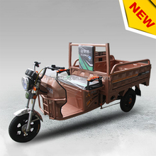 2017 new design comfortable cargo electric tricycle ,three wheel cargo motorcycles for adult